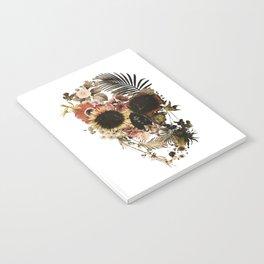 Garden Skull Light Notebook
