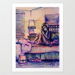 Ambivalent Unrequited Love Art Print