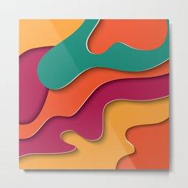 Paper Cutout 024 Metal Print