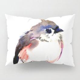 Cute Little Bird, Titmouse Pillow Sham