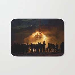 Easter full moon - the winter is over Bath Mat