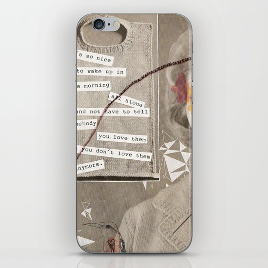 LOVE POEM iPhone Skin