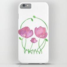 Tulip Skull iPhone 6 Plus Slim Case