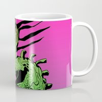 demon Mugs featuring DEMON by ASHES