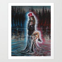savoring Art Print