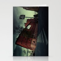 surrealism Stationery Cards featuring surrealism by Chirko.Roman
