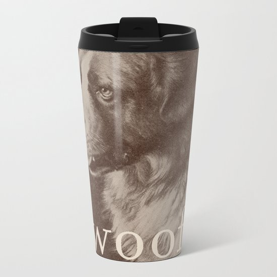 Famous Quotes #1 (anonymous dog, 1941) Metal Travel Mug