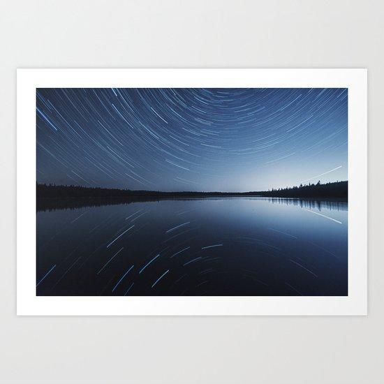 Reflection of the Stars Art Print