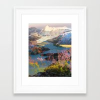 tchmo Framed Art Prints featuring Untitled 20140417o (Landscape) by tchmo