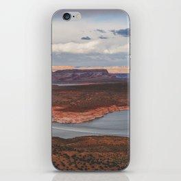 Cutting Through Lake Powell iPhone Skin