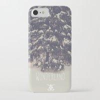 wonderland iPhone & iPod Cases featuring Wonderland by Christine VanFonda