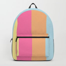 Its HOT - summer color stripes Backpack