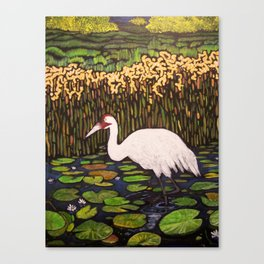 WADING IN THE SHALLOWS Canvas Print