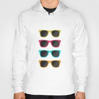 sunglasses Hoodies featuring FAVORITE SUNGLASSES by Allyson Johnson