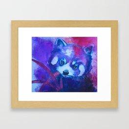 Baby Red Panda Framed Art Print