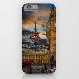 Big Ben London City iPhone Case