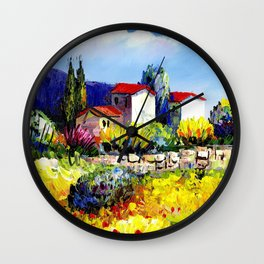 country side Wall Clock