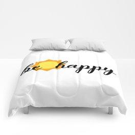 BE HAPPY SUNSHINE Comforters
