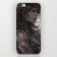 artgerm iPhone & iPod Skins featuring Survivor by Artgerm™