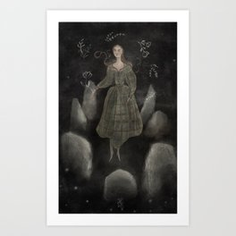 What Happened that Misummer Night Art Print
