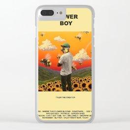 FLOWER BOY Clear iPhone Case