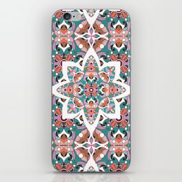 Flower with pattern iPhone Skin