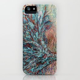 Midnight at the Wishing Tree iPhone Case