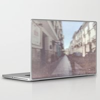 spain Laptop & iPad Skins featuring Madrid, Spain by Jane Lacey Smith