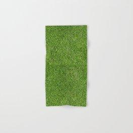 Green Grass by Silvana Arias Hand & Bath Towel