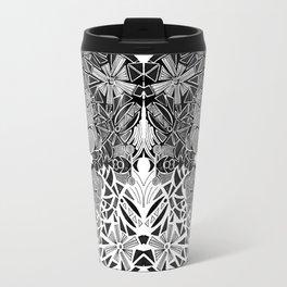 Symmetrical Mouse (bw) Travel Mug