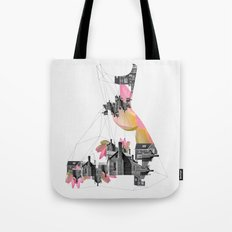 Filled with city Tote Bag