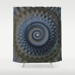The True Seeing is Within Shower Curtain