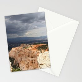 Dark Skies Over Bryce Canyon National Park Stationery Cards