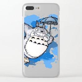 Tonari no Totor Clear iPhone Case