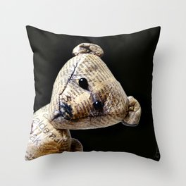 Arty Throw Pillow