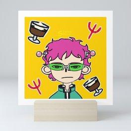 Saiki! Mini Art Print