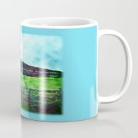 daria Mugs featuring there is a field... I'll meet you there. by Deepti Munshaw