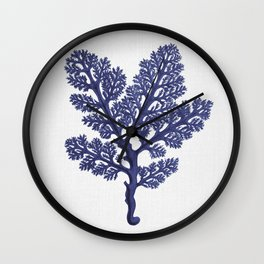 Seaweed 2 Wall Clock
