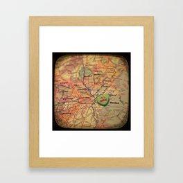 All Mine Boston Framed Art Print