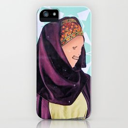 A Helping Hand iPhone Case