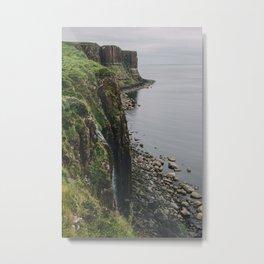 Kilt Rock and Mealt Falls Metal Print