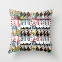 degas Throw Pillows featuring The Little Dancer by Lily Mandaliou