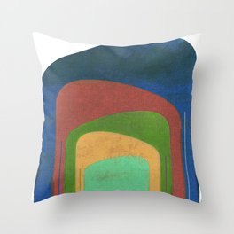 A Elephants Stack Throw Pillow
