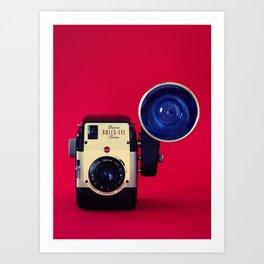 Bull's Eye Camera Art Print