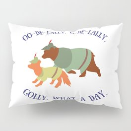 Robin Hood and Little John Pillow Sham