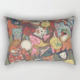 Night parade Rectangular Pillow