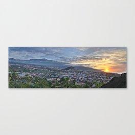 El Teide Volcano at Sunset Canvas Print