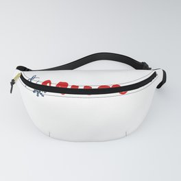 Mucrone and Winter Sports Fanny Pack