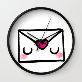 Love Letter Wall Clock