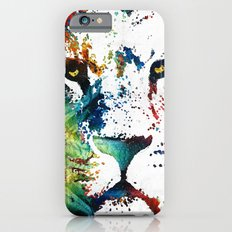 Colorful Lion Art By Sharon Cummings iPhone 6 Slim Case